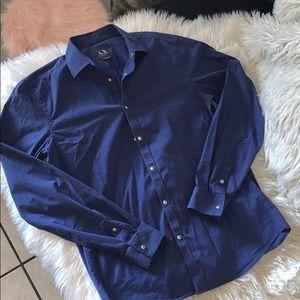 Armani exchange slim fit shirt sz medium